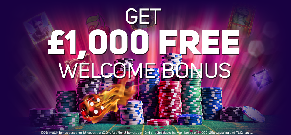 Magical Vegas Casino Welcome Bonus